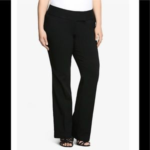 Torrid Noir Relaxed Trouser, 22 Extra Short